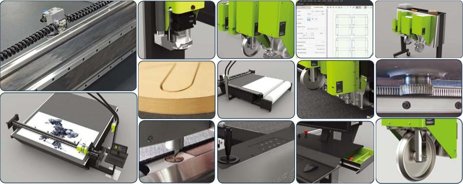 数控切割机康斯博(Kongsberg)C系列产品细节展示