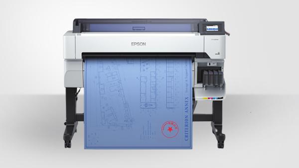 专业绘图仪-大幅面喷墨打印机Epson SureColor T5485D