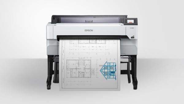 专业绘图仪-大幅面喷墨打印机Epson SureColor T5480M